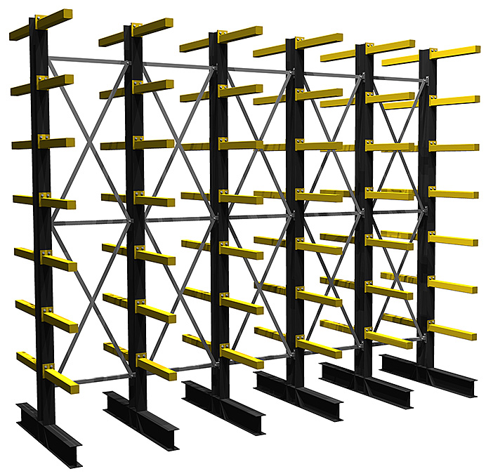cantilever design for warehouse