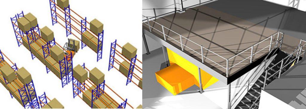 mezzanine & pallet racking concept designs