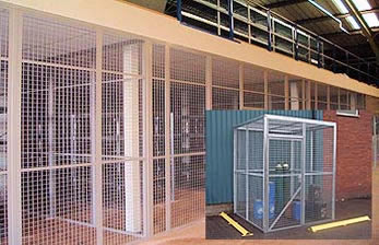 mesh partitioning and enclosures