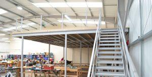 Mezzanine Storage Floor