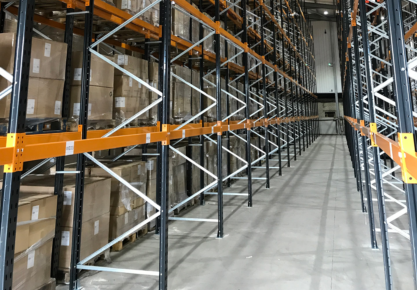 pallet racking inspection and repairs