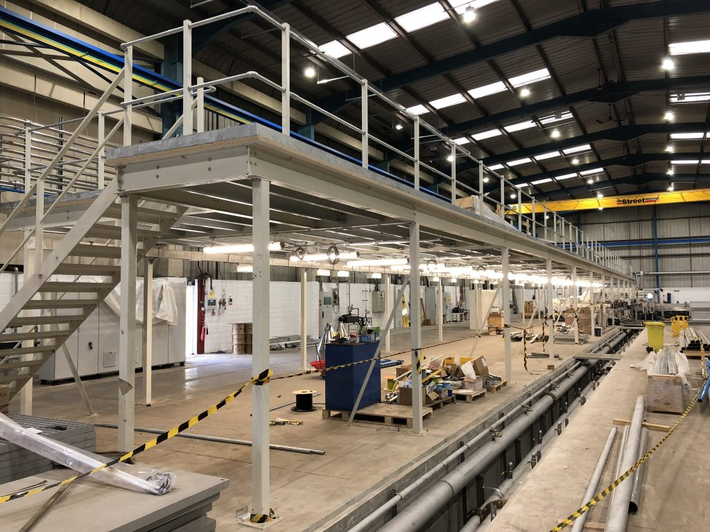 Production Mezzanine Floor